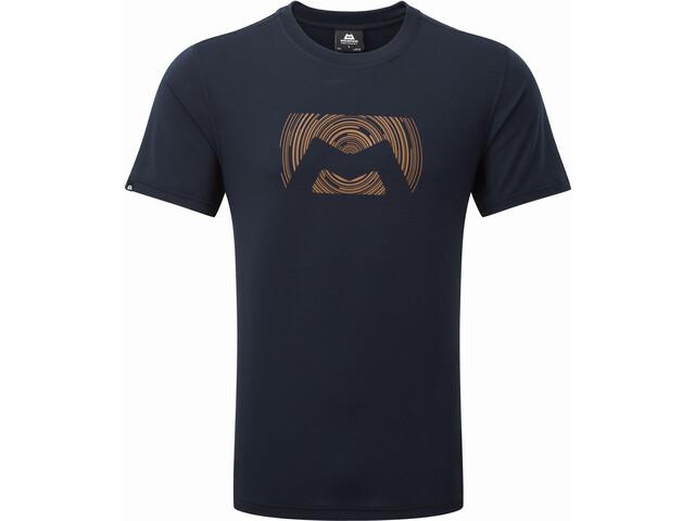Mountain Equipment Groundup Logo+ T-shirt Homme, cosmos